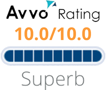 Avvo Rating - 10.0/10.0 - Superb