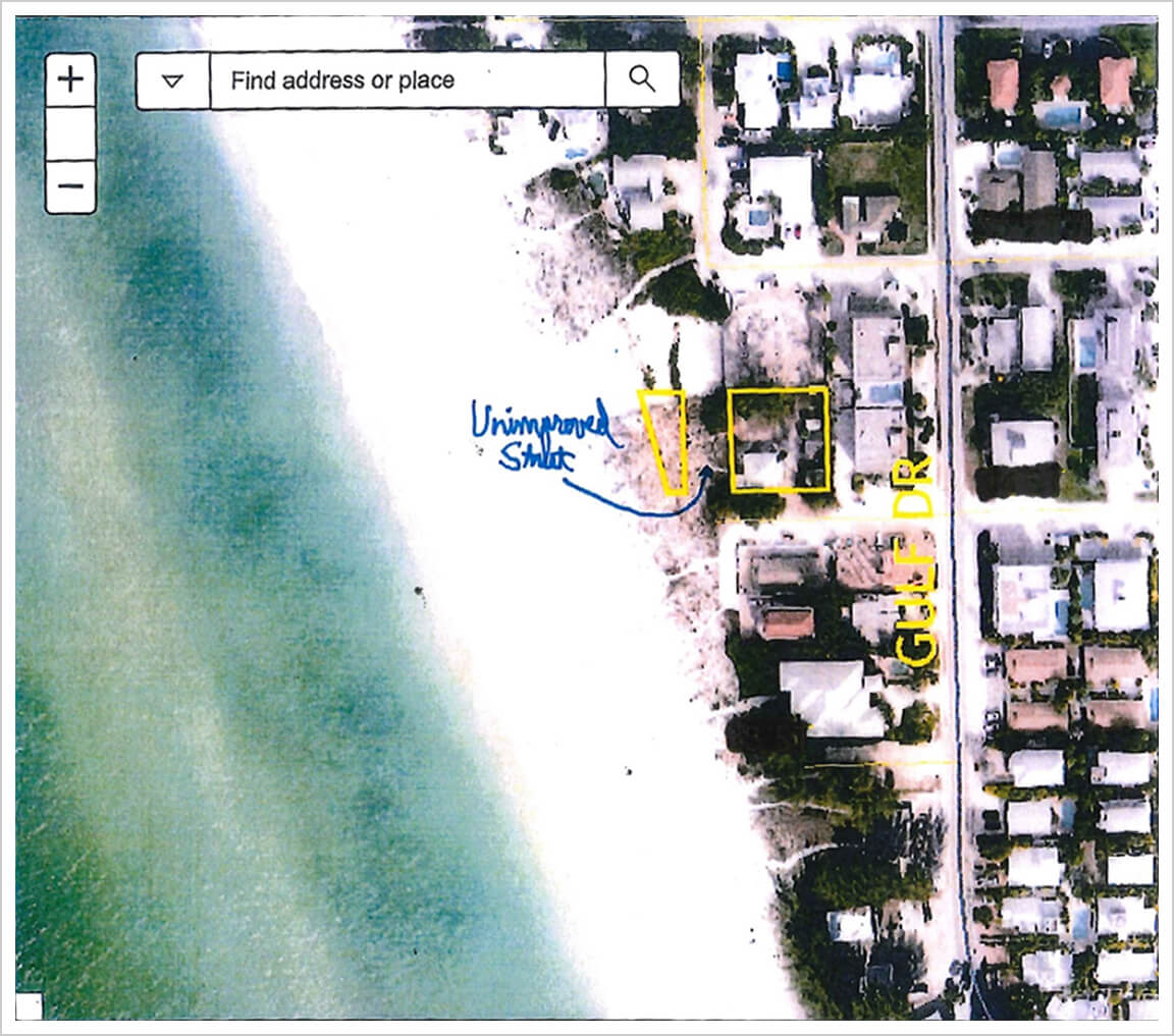 More 'Lot, Road, and Alley' Beachfront Properties