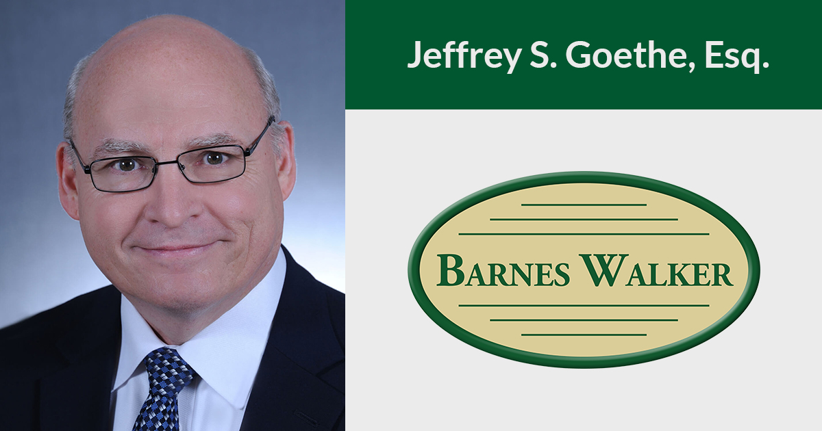 Partner Jeffrey S. Goethe Presented an Update on Florida's Homestead Protections