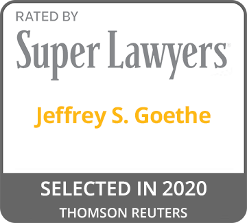 Super Lawyers - Jeffrey S. Goethe
