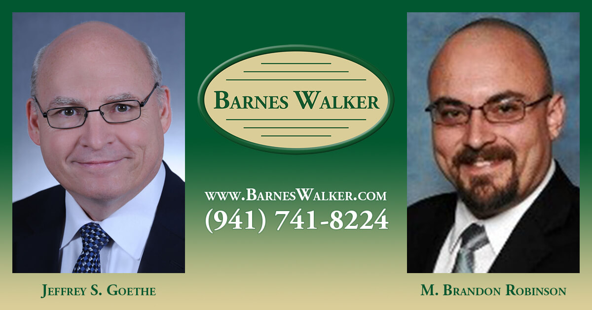 Two Barnes Walker Attorneys Recognized By SRQ - The Magazine